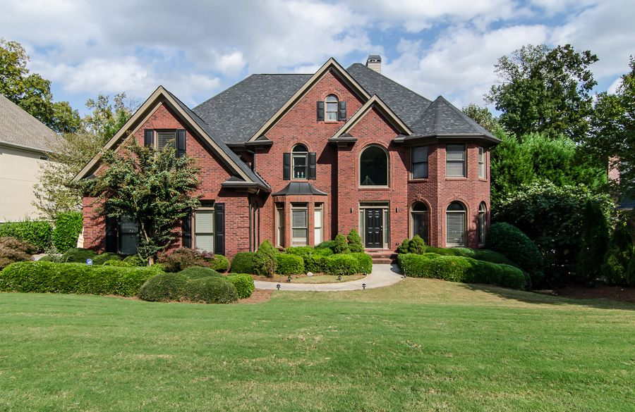 Beautiful Brick And Stone Homes Featured Home Breathtaking Brick Home In Norcross Previously On Stone Houses House Designs Exterior House Exterior