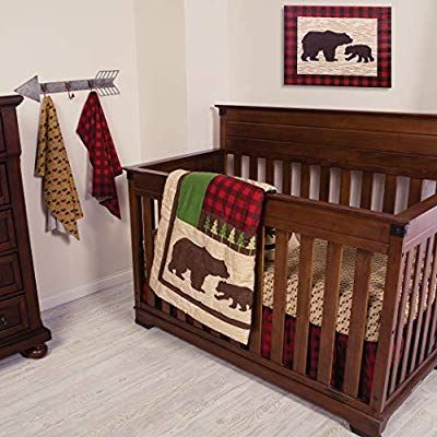 Trend Lab Northwoods 3piece Crib Bedding Set Crib