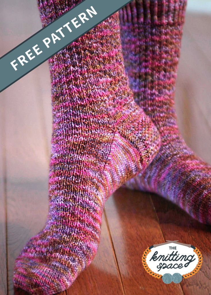 Hermione Everyday Knitted Socks [FREE Knitting Pattern]
