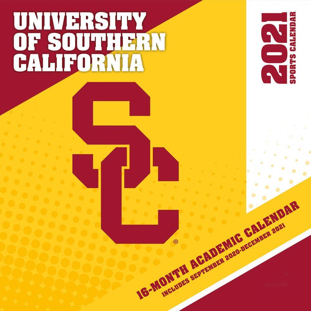 Usc Calendar 2021 2021 USC Trojans Calendars. Prove you are a passionate USC Trojans