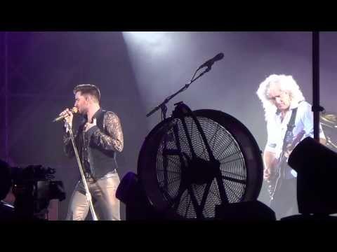 ▶ I Was Born To Love You_Queen+Adam Rambert_SupersonicKorea 2014_140814_@잠실운동장.MOV - YouTube