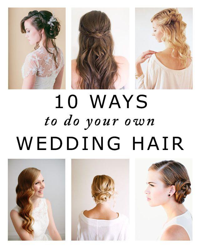 Wedding Hair Do It Yourself Wedding Makeup Wedding