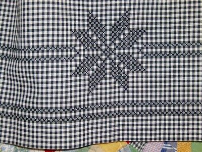 Chicken Scratch, Australian Cross Stitch, Depression Lace and Gingham Lace
