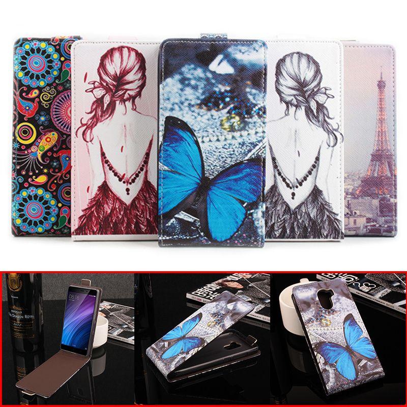 >> Click to Buy << Xiaomi Redmi 4 Cover Fashion Colorful Pattern PU Leather Case for Xiaomi Redmi 4 Flip Case 5.0 inch Vertical Back Cover #Affiliate