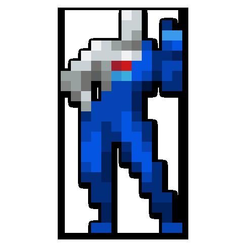 Day 180 Pepsiman By Jinndev Pepsi Man Pixel Art Deviantart