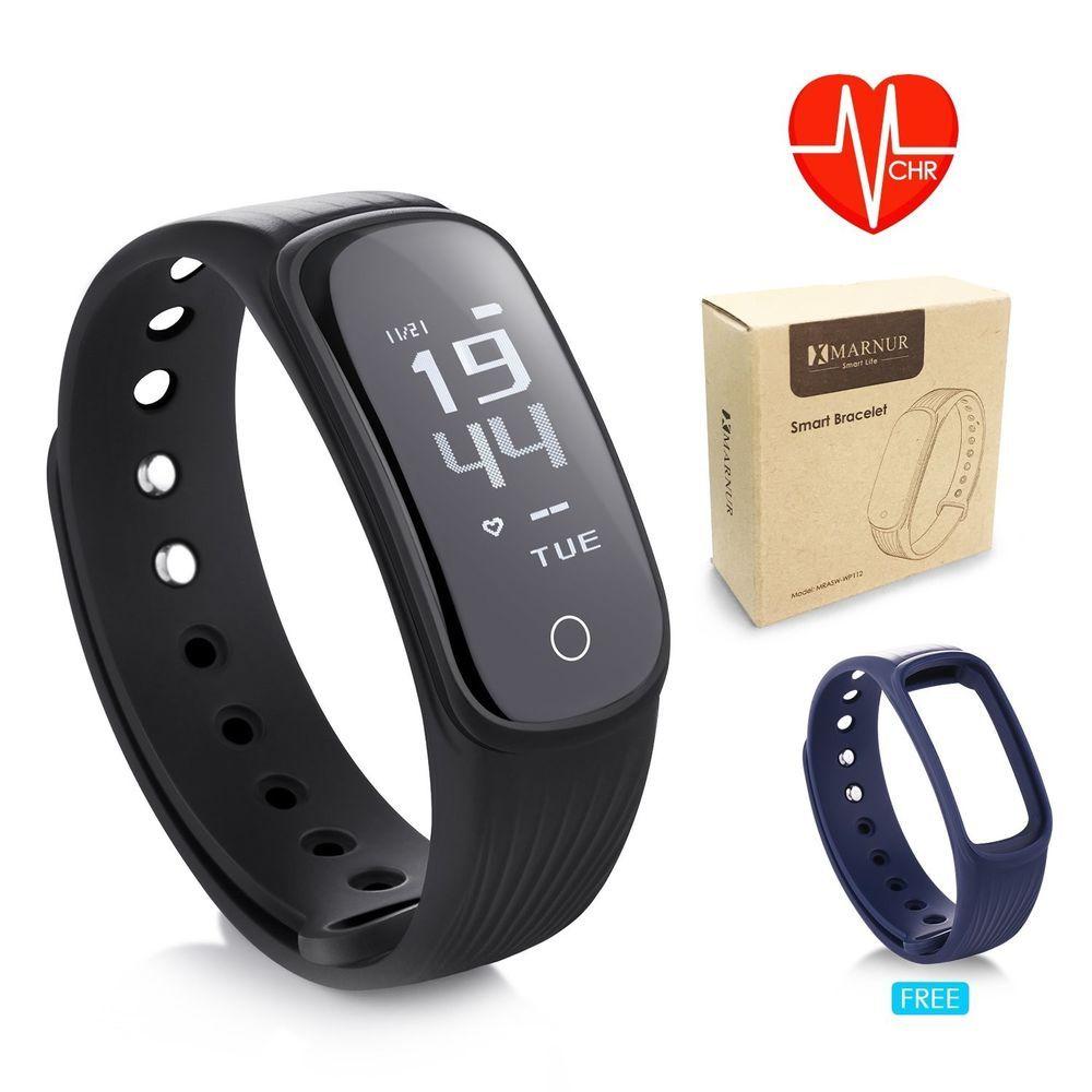Fitness tracker heart rate monitor activity smart sport