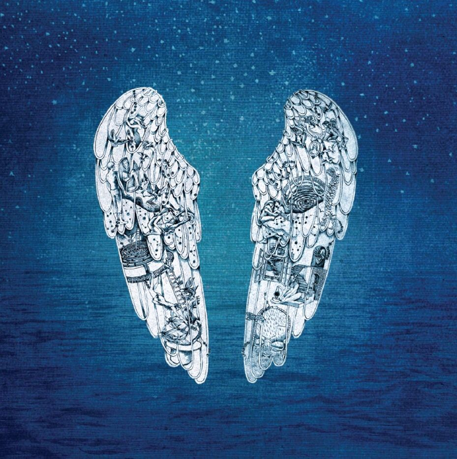Album covers Coldplay Ghost Stories | Portadas de discos
