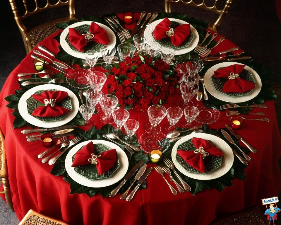 макгрегор оригинальное оформление новогоднего стола фото соединения