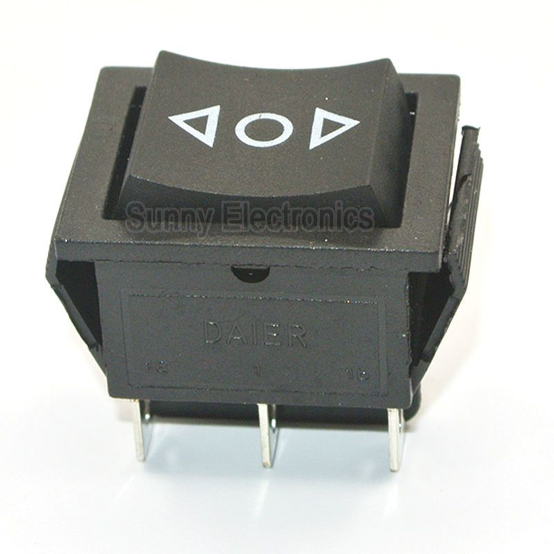 Janela De Poder 12 V 6 Pin Dpdt Momentary Rocker Switch Ac 250 V 16a 125 V 20a Em Off On Alternar Light Accessories Electrical Equipment Power