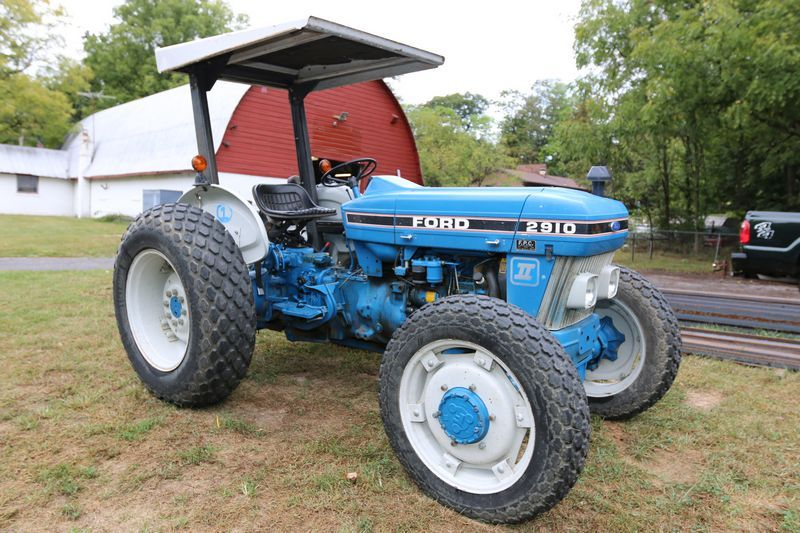 2910 ford tractor wiring diagram 1988 ford 2910  830 hours  4x4  turf tires at 75   orops with  1988 ford 2910  830 hours  4x4  turf