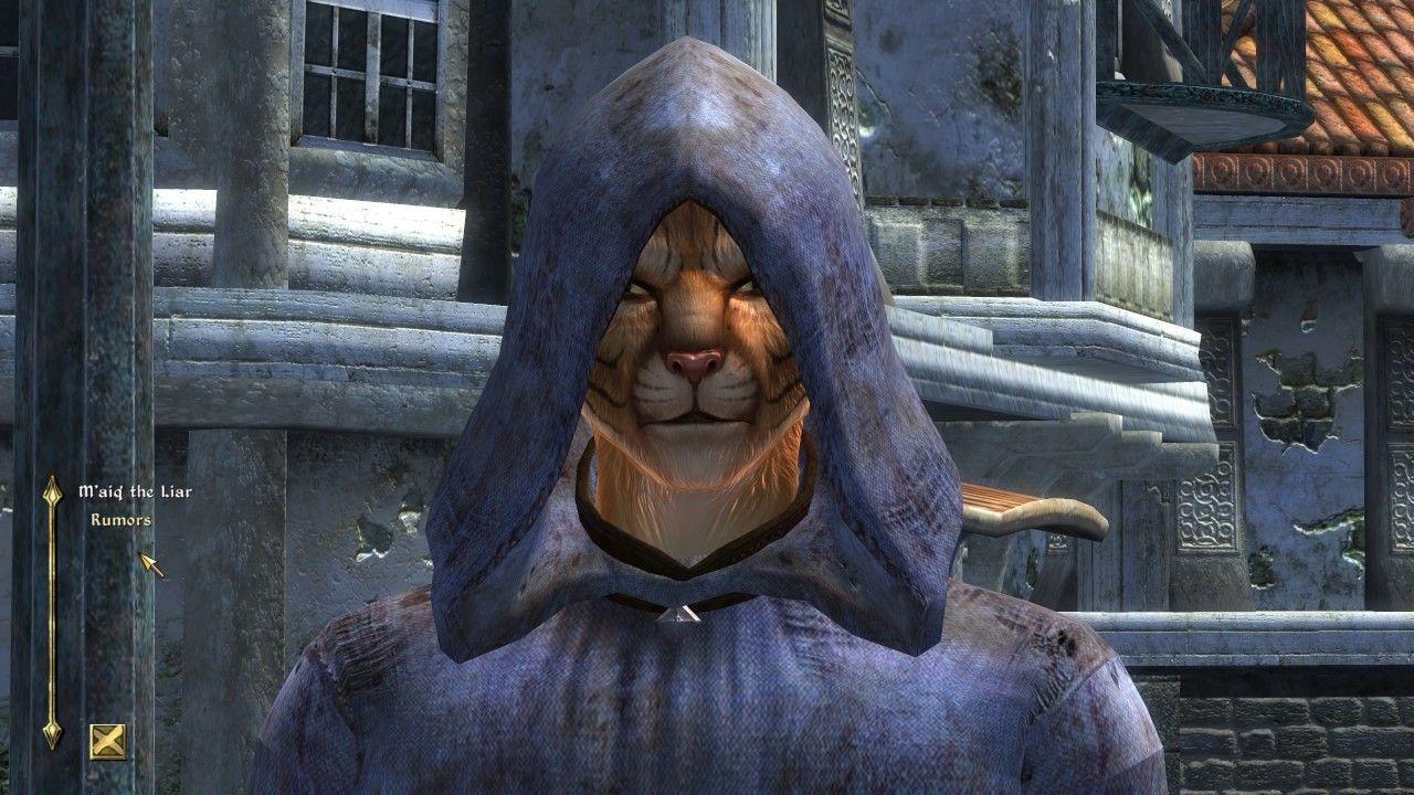 M'aiq Encounter #1 - Oblivion Character Overhaul V2