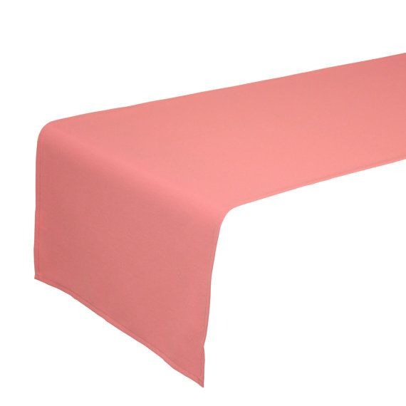 Coral Table Runner 14 X 108 Inches | Perfect As Salmon Table Runners, Coral  Table Runners For Weddings, Events, Hotels, And Restaurants