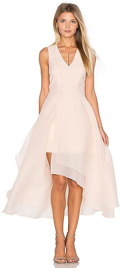 743b858ef876 keepsake All Yours Dress in Peach. - size S (also in ) This is impress the  boss at the office party !!