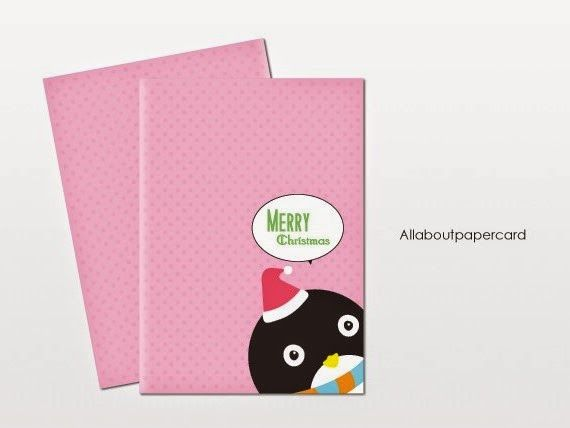 Cute Christmas Handmade card Allaboutpapercard