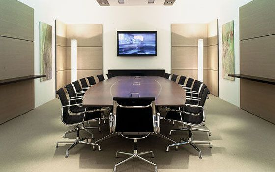 furniture the nise confernce room design ideas with brown table and black chairs on grey captivating conference - Conference Room Design Ideas