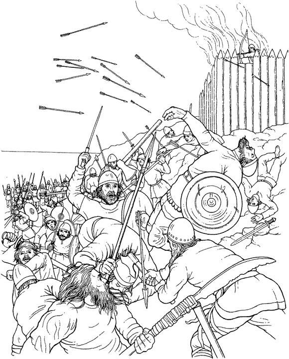 viking coloring pages # 2