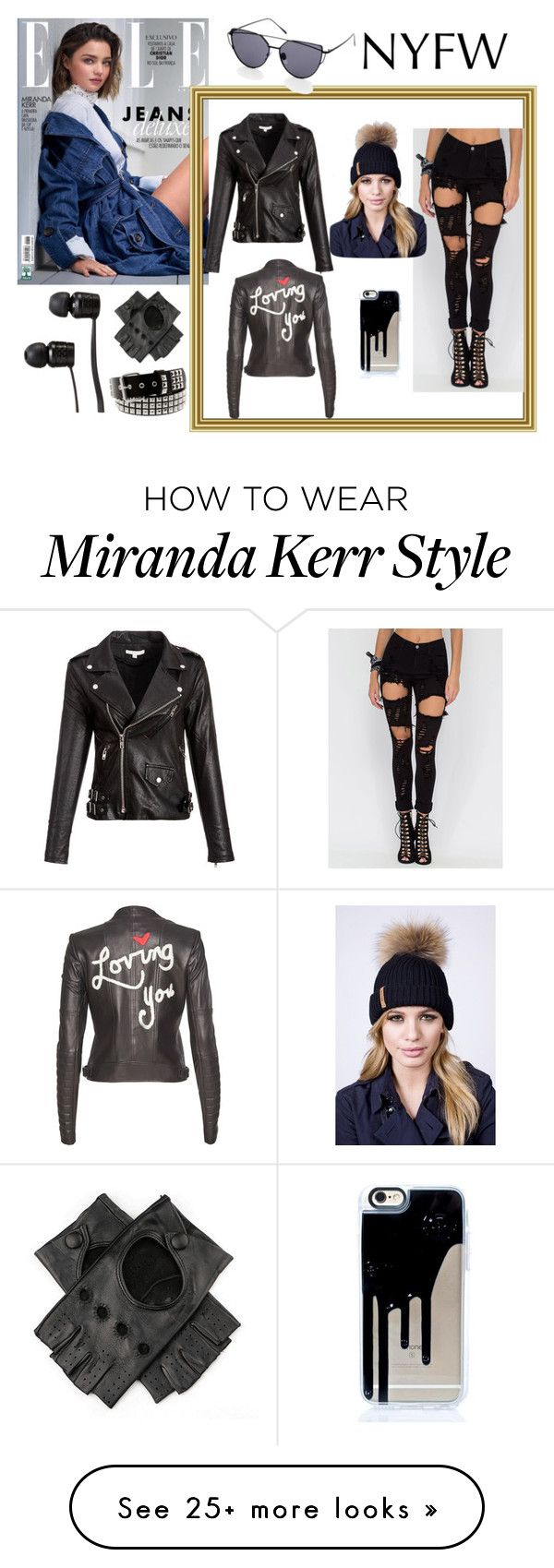 """""""NYFW"""" by explorer-14673103603 on Polyvore featuring Kerr®, Alice + Olivia, Black and Vans"""