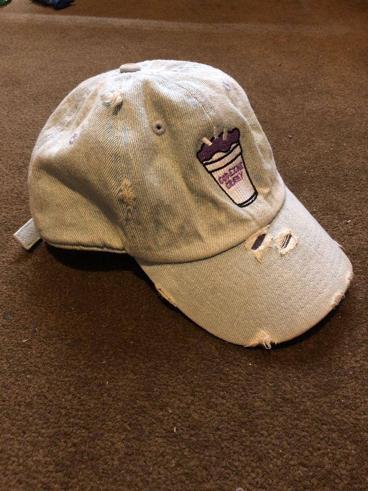 78b78cc6 Codeine Crazy Vtg Dad Hat Jean Strap Back #fashion #clothing #shoes # accessories #mensaccessories #hats (ebay link)