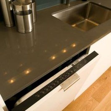 How To Attach A Dishwasher To A Stone Countertop Laminate