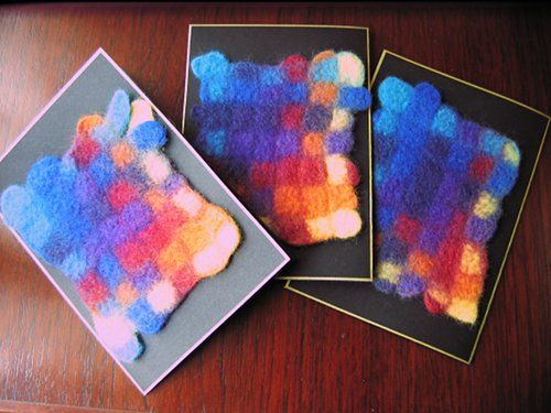 Weaving and felting