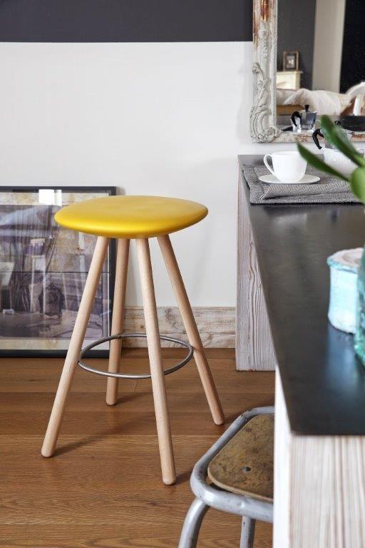 VIOOD ALTO - Stool suitable for the kitchen or the living room #sgabello #seduta #sedia