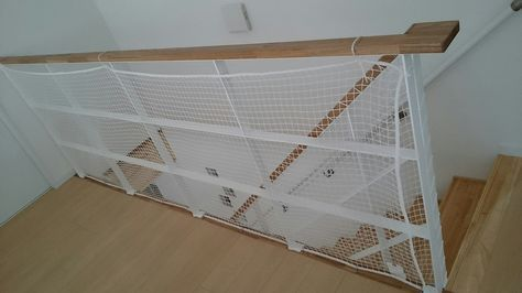 渡り廊下のある家 転落防止ネット 家 渡り廊下 ブログ