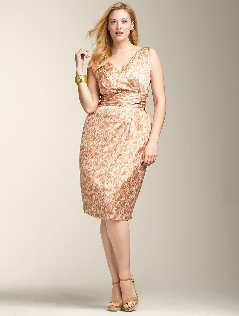 Talbots dresses for weddings  Talbots Women  another GREAT store for the fuller figure  My