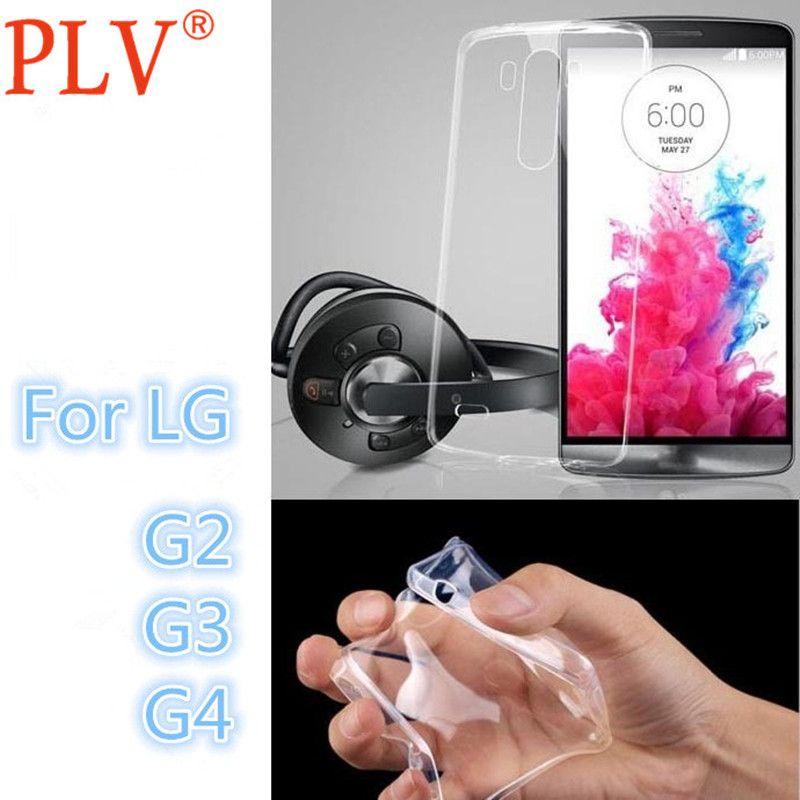무료 배송 울트라 얇은 슬림 0.3 미리메터 클리어 투명 소프트 tpu lg g2 case 대한 lg g2 g3 g4 휴대 전화 다시 커버 case