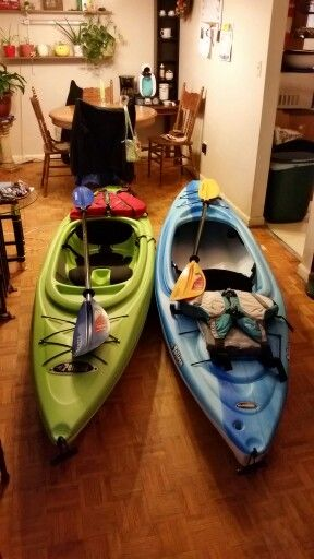 Our first kayaks  Pelican Trailblazer 100X    | Kayaking - just do