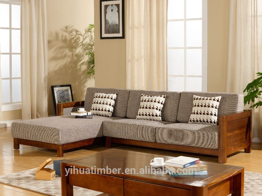 Modern wooden sofa sets designs chinese style solid wood for Contemporary sofa set