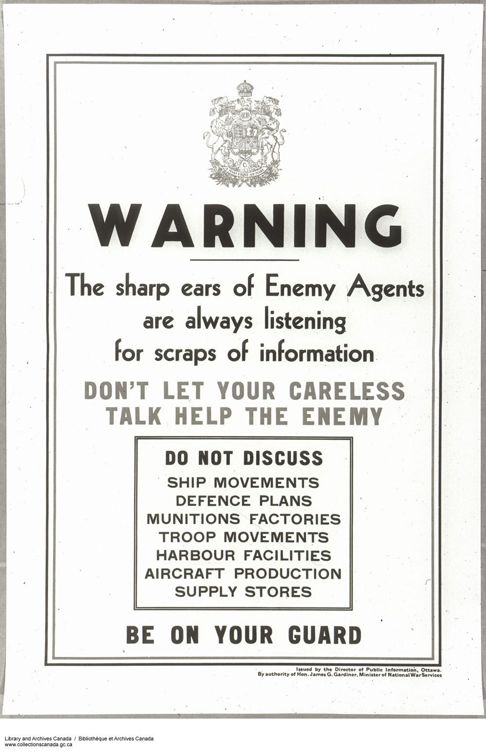 Canadian Second World War Propaganda Posters & Sketch's