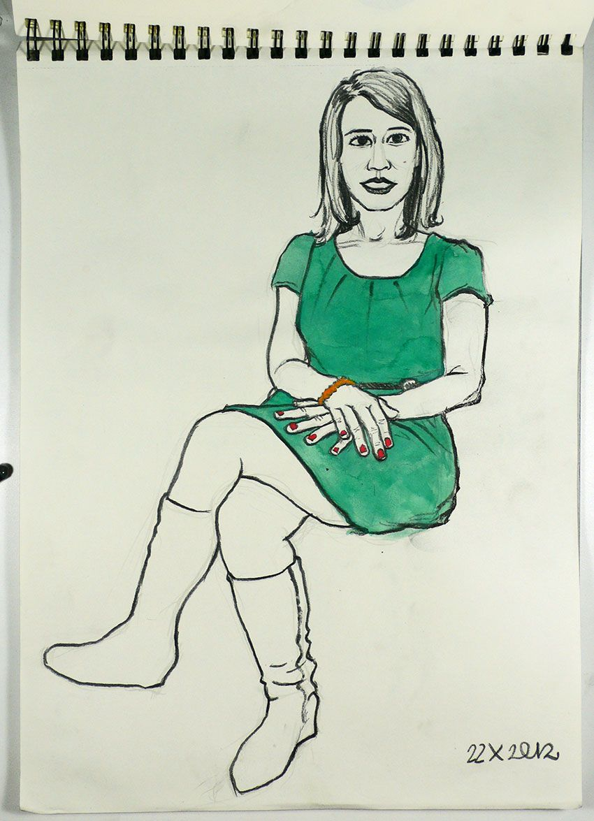 Cristina Espinosa, periodista.