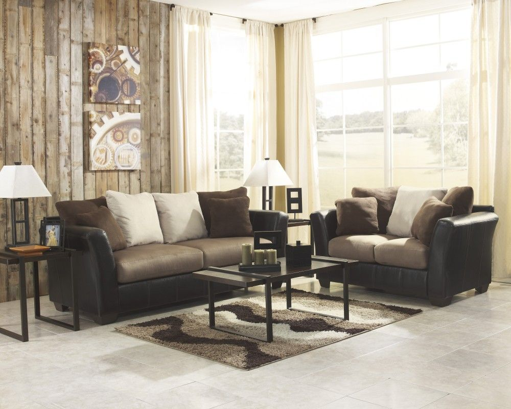 Emelen Sofa And Loveseat Masoli Mocha Sofa Loveseat My Place Pinterest Living