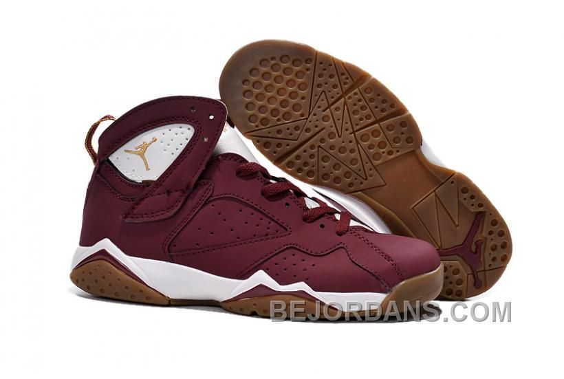 33c47608271 Authentic Cheap Air Jordan 7 Buy 2015 new jordan retro 7 vii shoe dark red  white nike outlet