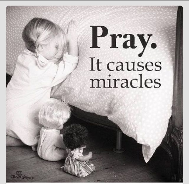 So Cute Little Girl Praying And Having Her Dolls Pray With Her