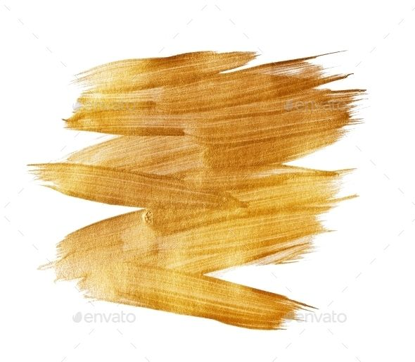 Gold Watercolor Texture Paint Stain Abstract (Metal) - i-plugin ...