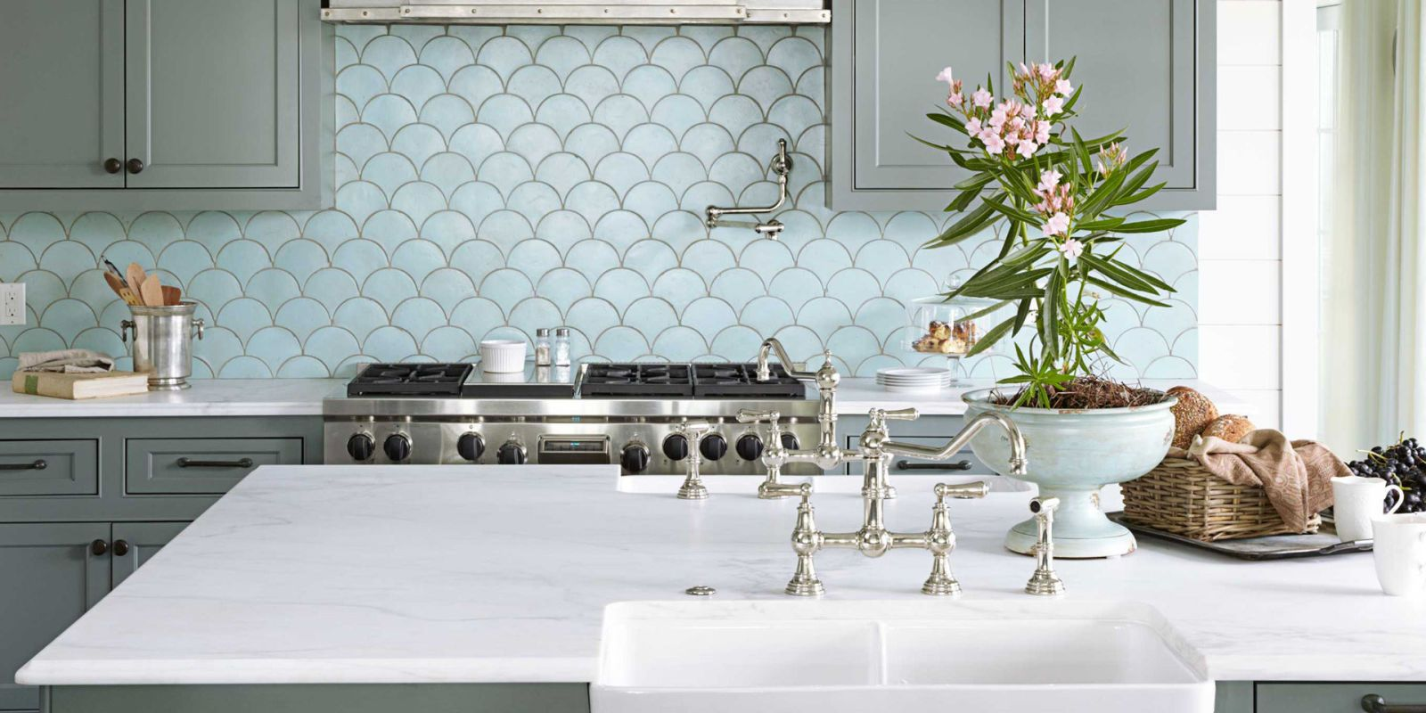 Get the Look: A Kitchen Inspired by the Ocean | Interior design ...