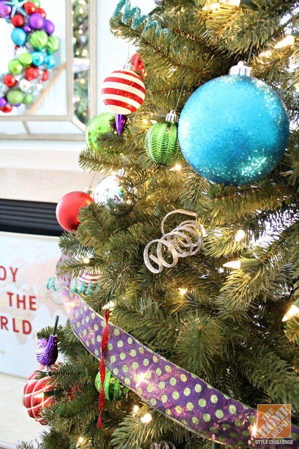 Christmas Tree Decorating Ideas The Home Depot Christmas Tree Decorations Whimsical Christmas Holiday Decor