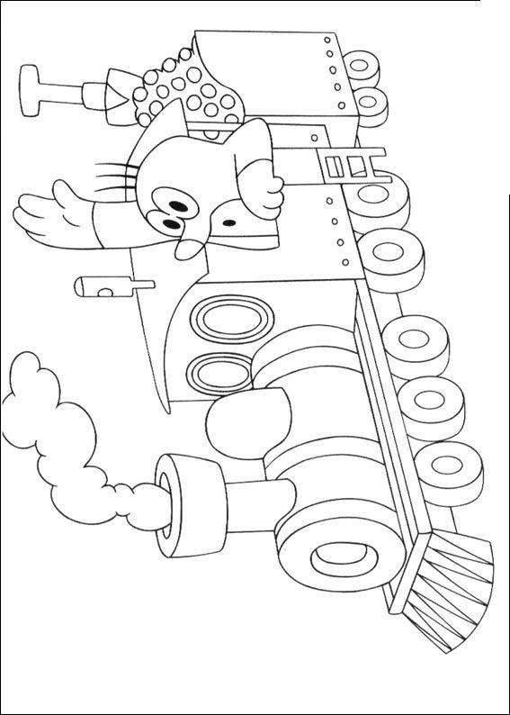 Kleurplaten Voertuigen Trein.Kleurplaat Trein Coloring Pages Pinterest Kleurplaten Treinen