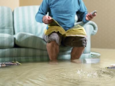 How To Stop Water Coming In Walk Out Basement Door Damage Restoration Flood Damage Water Damage Repair