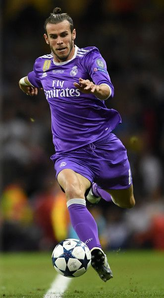 Gareth Bale Of Real Madrid In Action During The Uefa Champions League Final Between Juventus And Real Madrid At National Stadium Of Wales On June