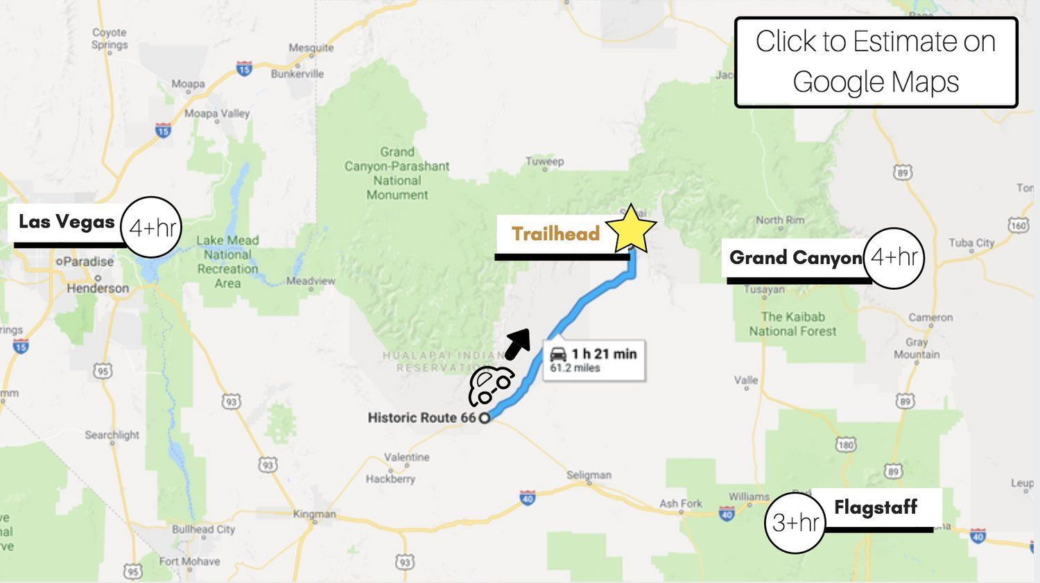 The ULTIMATE Guide to the Havasu Falls Hike in 2019 ... on map of meteor crater, map of shoshone falls, map of grand canyon region, map of utah, map of havasu falls, map of monument valley, map of mooney falls, map of canyon de chelly,