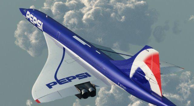 Concorde Pepsi Par Phil Rc Kaloula Com L Aeromodelisme Concorde Passenger Aircraft British Aircraft
