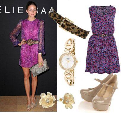 Purple Dress Accessories In Schemes