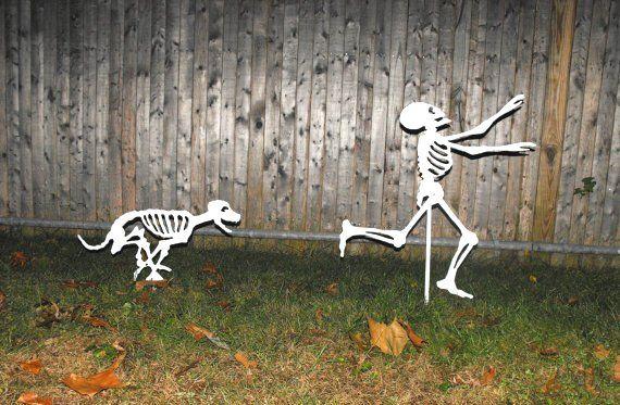Halloween Yard Skeletons decorating design 5 Inspiration for 2012