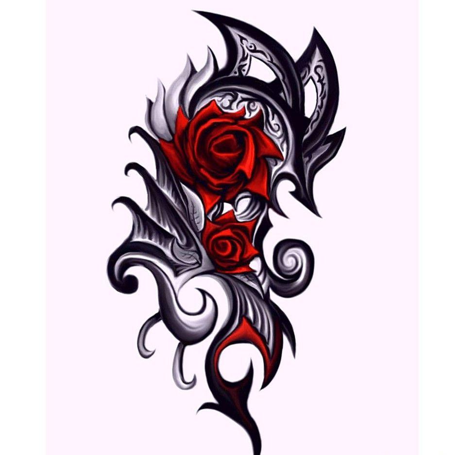 celtic four heart tattoo stunning pictures blog 10 inspiring rh pinterest nz dragon rose tattoo meaning dragon holding rose tattoos
