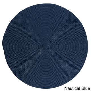 Anywhere Braided Fade-resistant Rug (8' x 8') | Overstock™ Shopping - Great Deals on Colonial Mills Round/Oval/Square