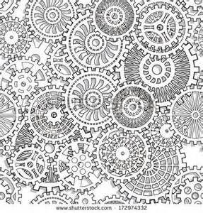 Steampunk Gears Coloring Pages Bing Images Steampunk Coloring Coloring Pages Steampunk Patterns