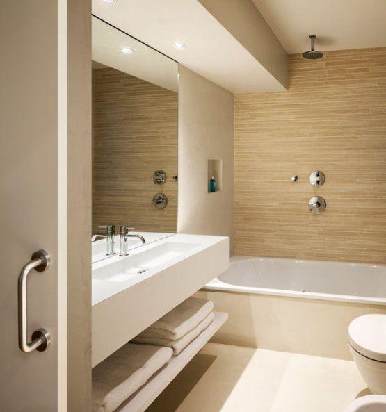 Unir dos pisos por una escalera mid century modern - Escaleras modernas interiores ...