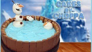 OLAF Kit-Kat Cake | Disney's FROZEN (How To) on Creator Republic